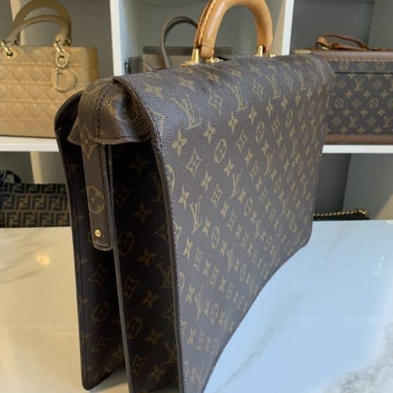 Louis Vuitton Serviette Fermoir NM