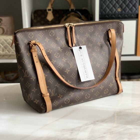 Louis Vuitton Tuileries Handbag Monogram Canvas