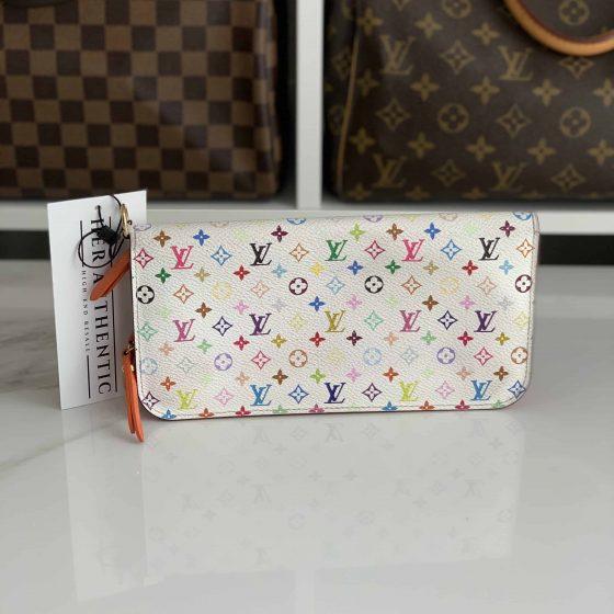 Louis Vuitton Multicolor Insolite Wallet White