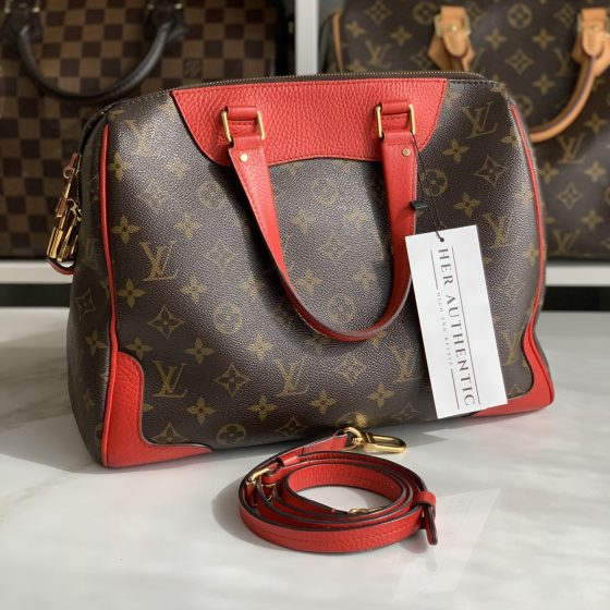 Louis Vuitton Monogram Retiro NM Coquelicot