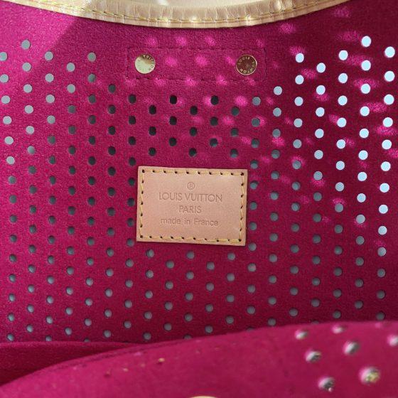 Louis Vuitton Monogram Perforated Musette Fuchsia