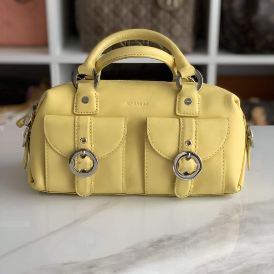 Givenchy Vintage Top Handle Bag Yellow
