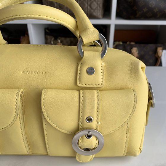 Givenchy Vintage Top Handle Bag Yellow