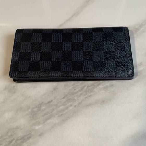Damier Cobalt Brazza Wallet