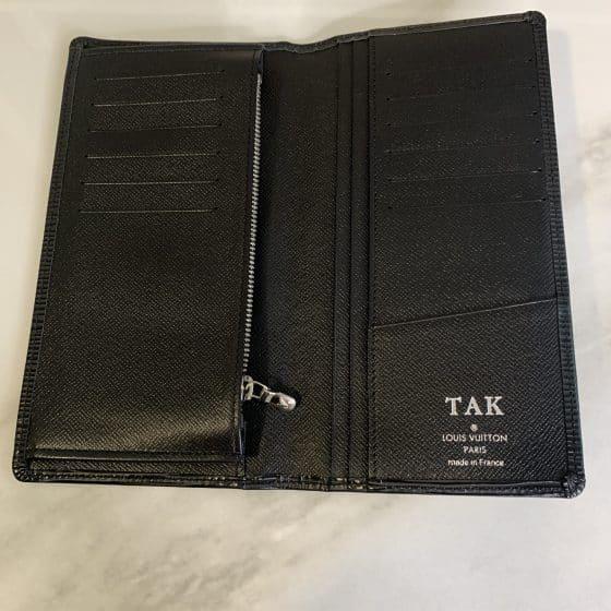 Louis Vuitton Epi Brazza Wallet Black