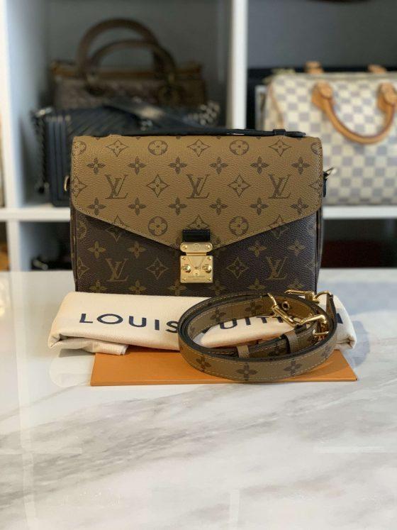 Louis Vuitton Reverse Monogram Pochette Metis