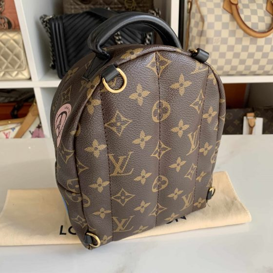 Louis Vuitton Monogram World Tour Palm Springs Backpack Mini