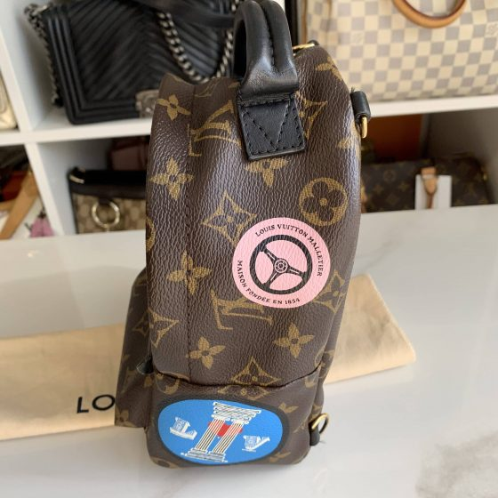 Louis Vuitton Monogram World Tour Palm Springs Backpack Mini