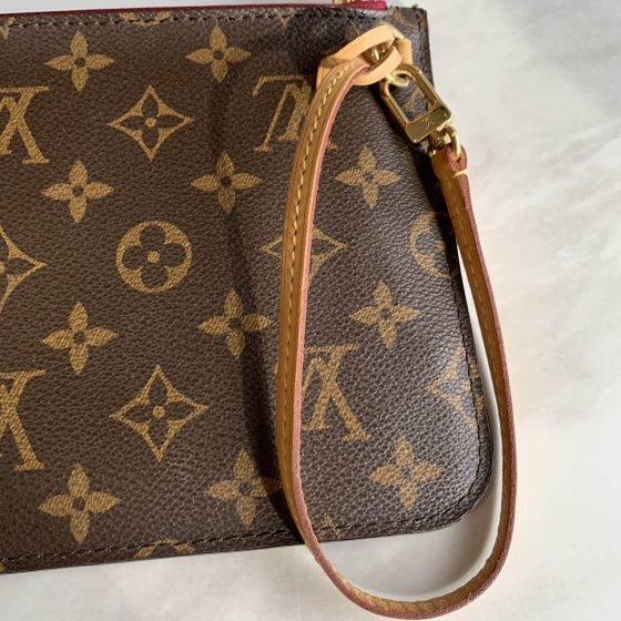Louis Vuitton Monogram Neverfull MM Fuchsia