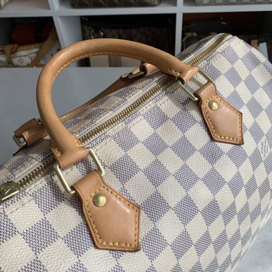 Louis Vuitton Damier Azur Speedy 30 Bandouliere NM