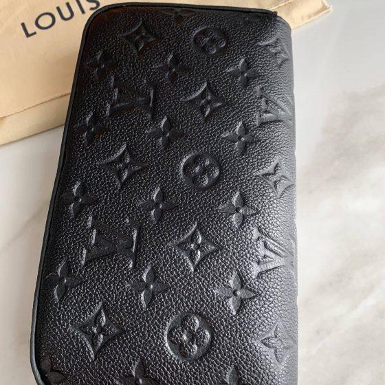 Louis Vuitton Empreinte Pochette Felicie Chain Wallet Noir