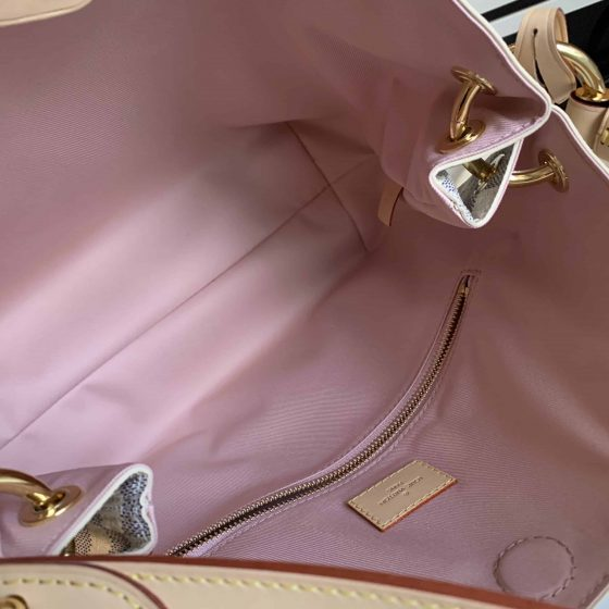 Louis Vuitton Damier Azur Graceful PM Rose Ballerine