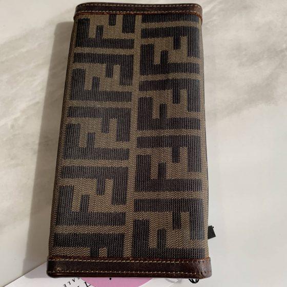Fendi Vintage Zucca Wallet