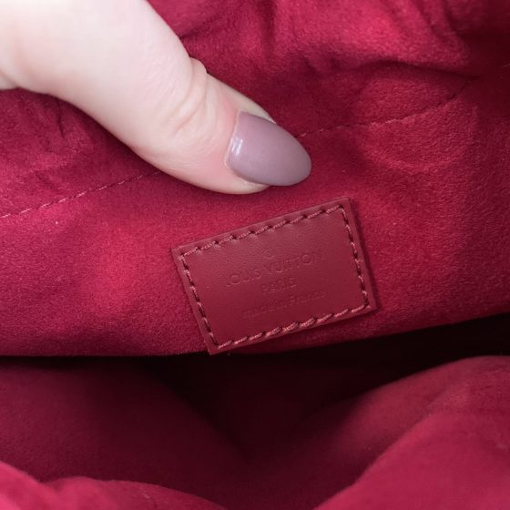 Louis Vuitton Monogram Pouch Noe Fuchsia