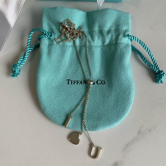 Tiffany & Co I Heart U Necklace Sterling Silver