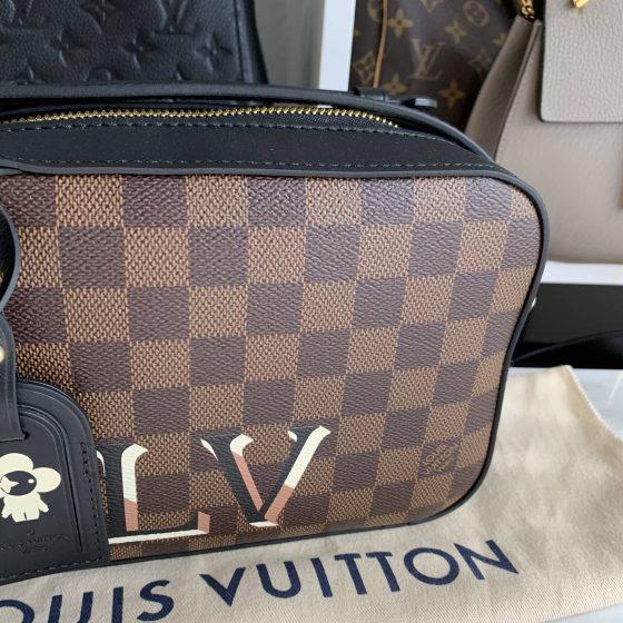 Louis Vuitton Noir Santa Monica Damier Ebene
