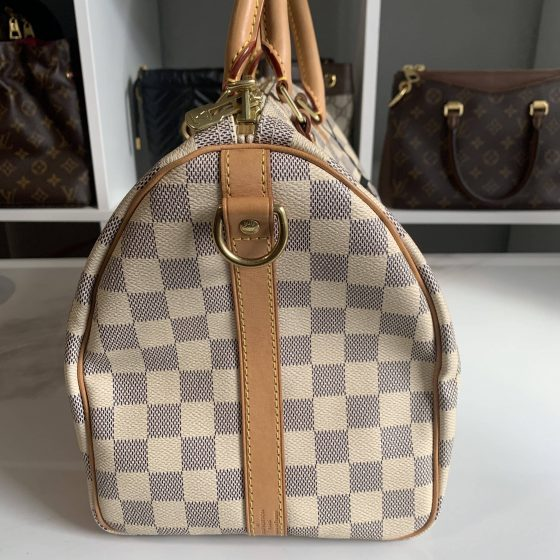 Louis Vuitton Damier Azur Speedy 30 Bandouliere