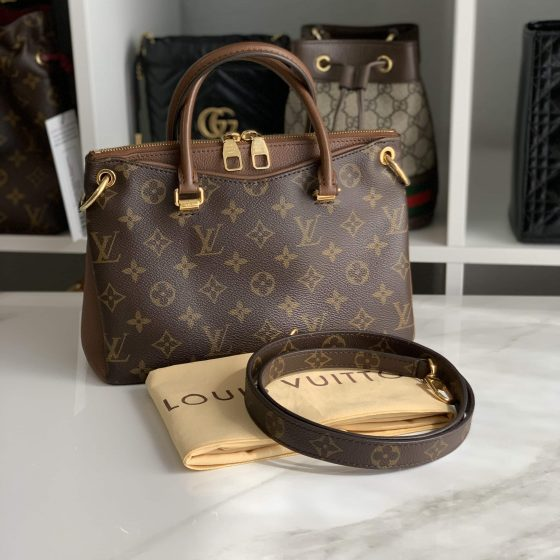 Louis Vuitton Monogram Pallas BB Noisette