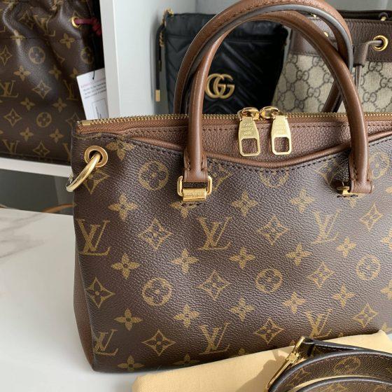 Louis Vuitton Monogram Pallas BB Noisette