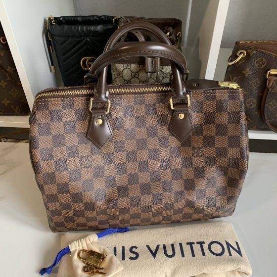 Louis Vuitton Damier Ebene Speedy 30 NM