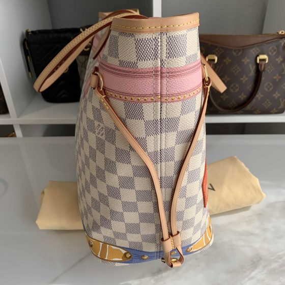 Louis Vuitton Damier Azur Summer Trunks Neo Neverfull MM