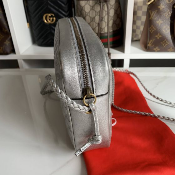 Gucci Trapuntata Camera Bag Quilted Leather Small