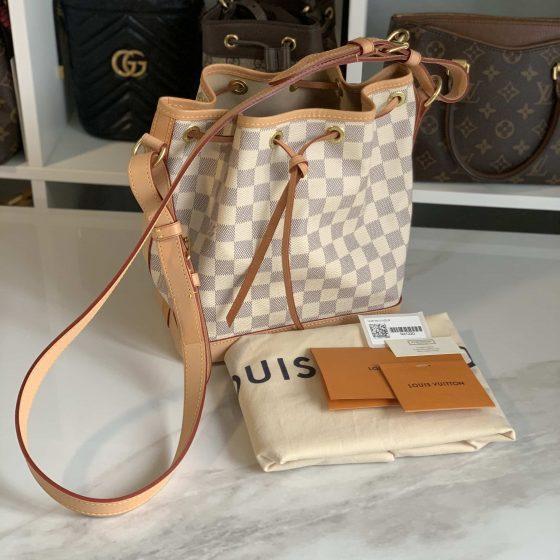 Louis Vuitton Damier Azur Noe BB