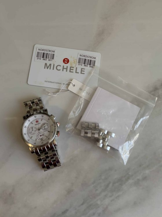 Michele Sports Sail Dial Watch
