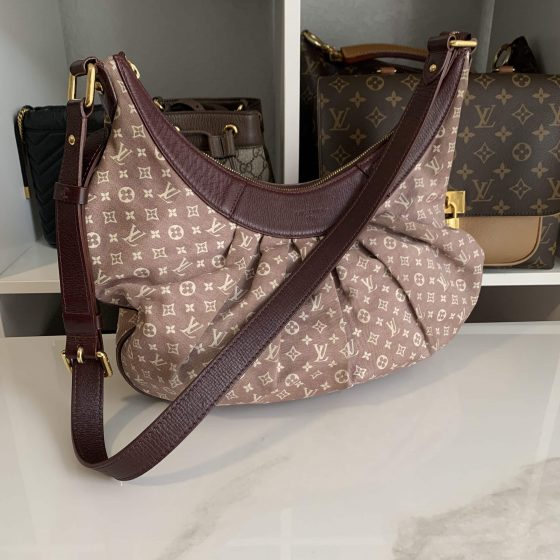 Louis Vuitton Monogram Idylle Rhapsodie MM Sepia