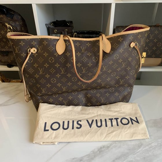 Louis Vuitton Monogram Neverfull GM Pivoine