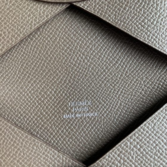 Hermes Epsom Calvi Card Case