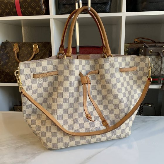 Louis Vuitton Damier Azur Girolata Bag