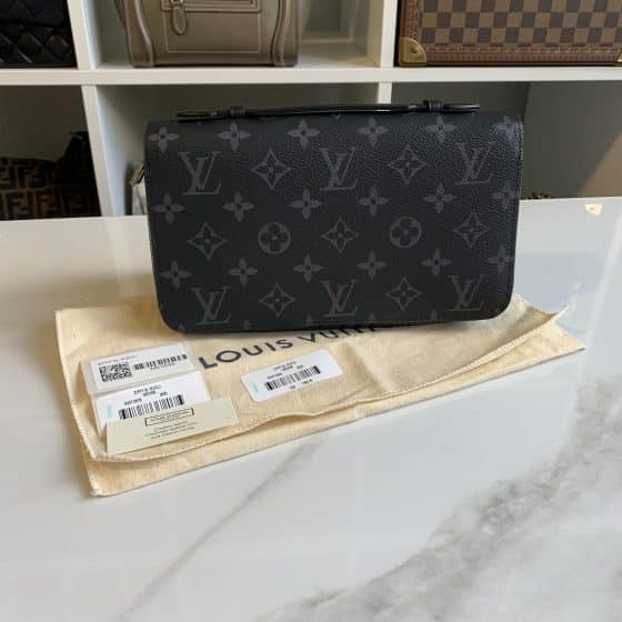Louis Vuitton Monogram Eclipse Zippy XL Wallet