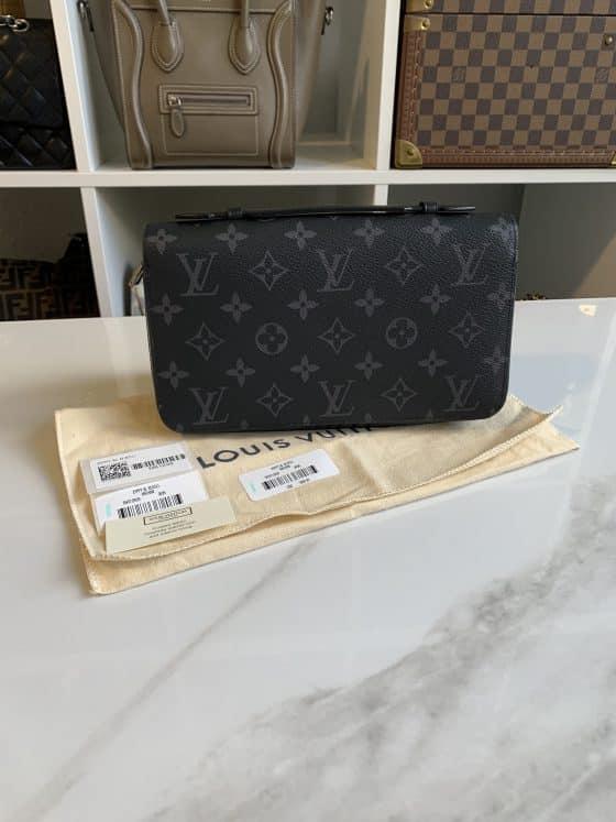 Louis Vuitton Monogram Eclipse Zippy XL Wallet