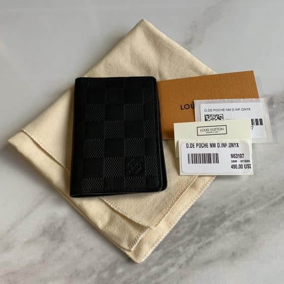 Louis Vuitton Damier Infini Onyx Pocket Organizer