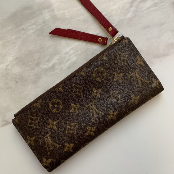 Louis Vuitton Adele Wallet Monogram Canvas Fuchsia