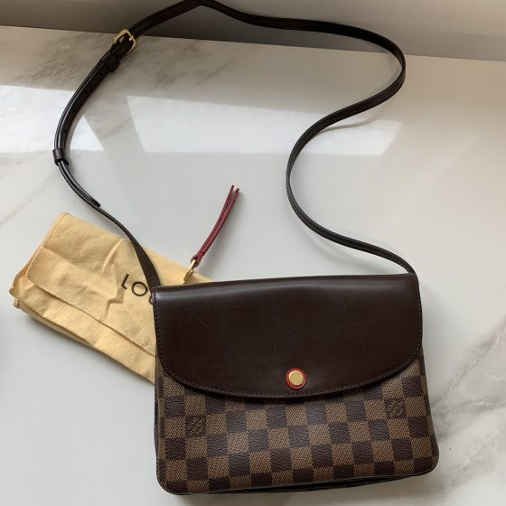 Louis Vuitton Damier Ebene Twice