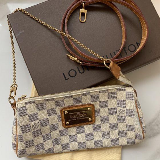 Louis Vuitton Damier Azur Eva