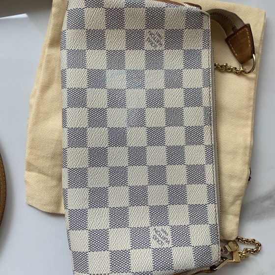Louis Vuitton Damier Azur Eva