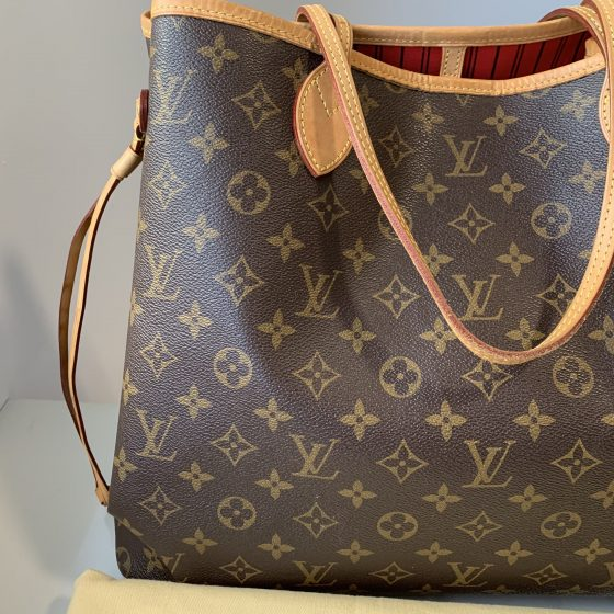 Louis Vuitton Monogram Neverfull GM Cerise