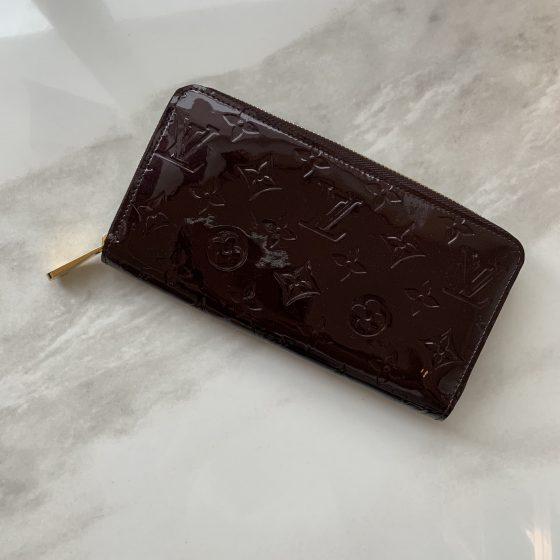 Louis Vuitton Vernis Zippy Wallet Amarante