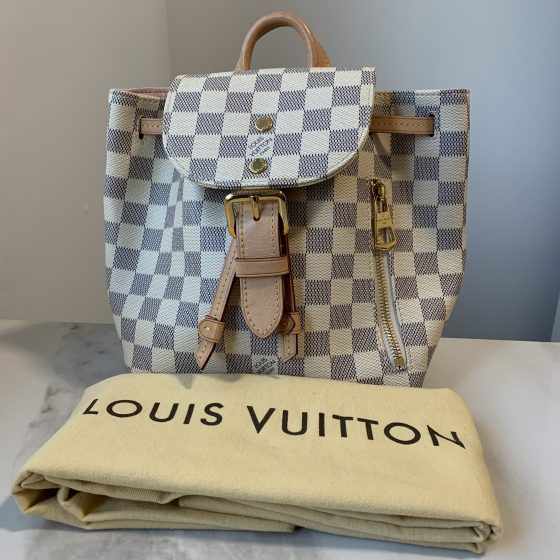 Louis Vuitton Damier Azur Sperone BB Backpack