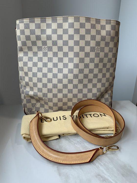 Louis Vuitton Damier Azur Soffi