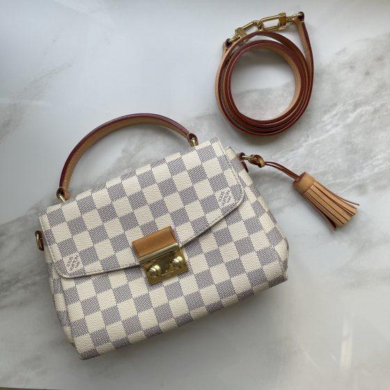 Louis Vuitton Damier Azur Croisette