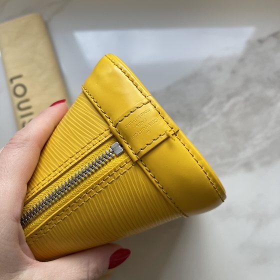 Louis Vuitton Epi Alma BB Citron