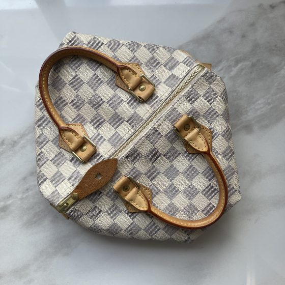 Louis Vuitton Damier Azur Speedy 25
