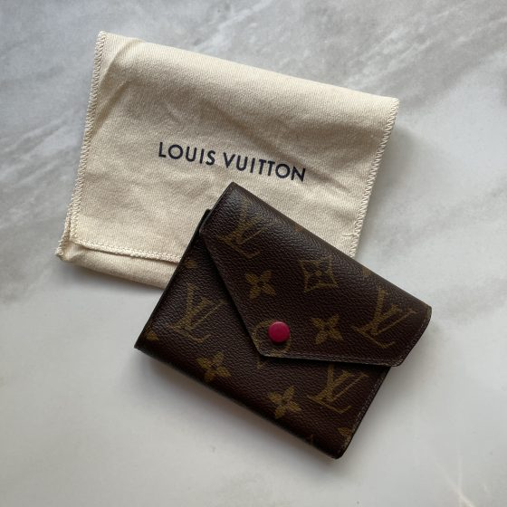 Louis Vuitton Monogram Victorine Wallet Fuchsia