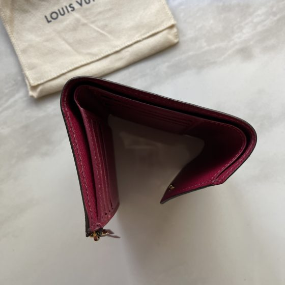 Louis Vuitton Monogram Victorine Wallet Fuchsia