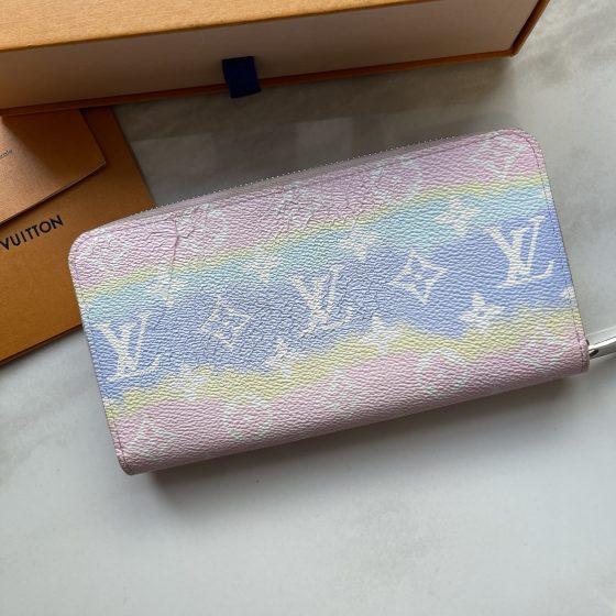 Louis Vuitton Monogram Escale Zippy Wallet Pastel