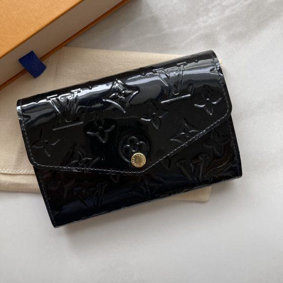 Louis Vuitton Vernis Sarah Compact Noir